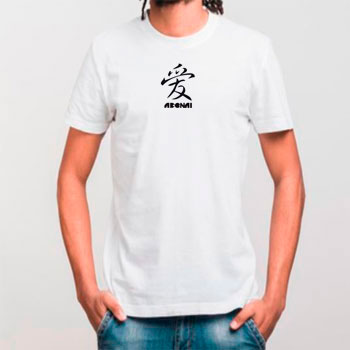 Camiseta diseño chino