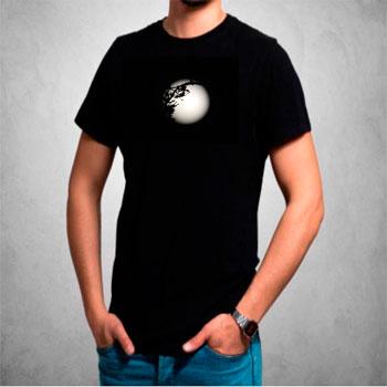 camisetas estampadas hombre, universo