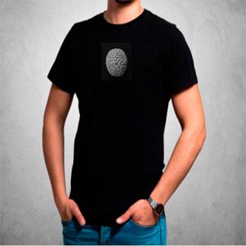 camisetas estampadas hombre, tierra