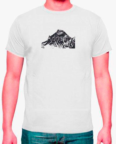 camisetas estampadas hombre y everst