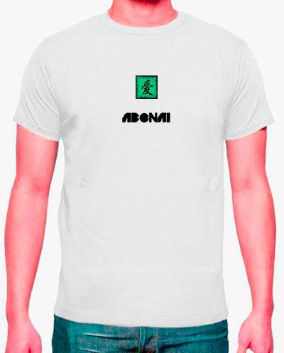 camisetas estampadas hombre, simbolo chino